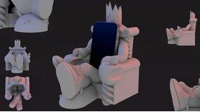 低调奢华有内涵iThrone 苹果手机的王座